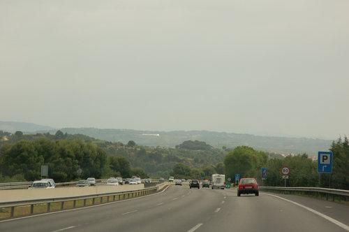 Autopista AP-7 north-east