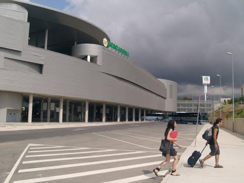 The bus station, Benidorm, Spain.