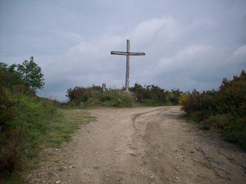 Caminho de Santiago - Via da Prata - Cruz de Madeira