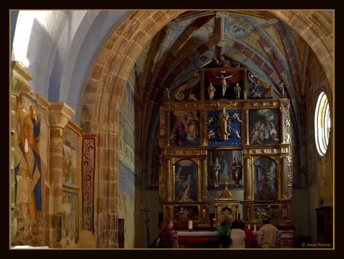 Retablo de San Cebrián de Muda (tamaño grande para ver detalles)
