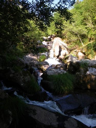Tramo superior de la cascada de Barosa