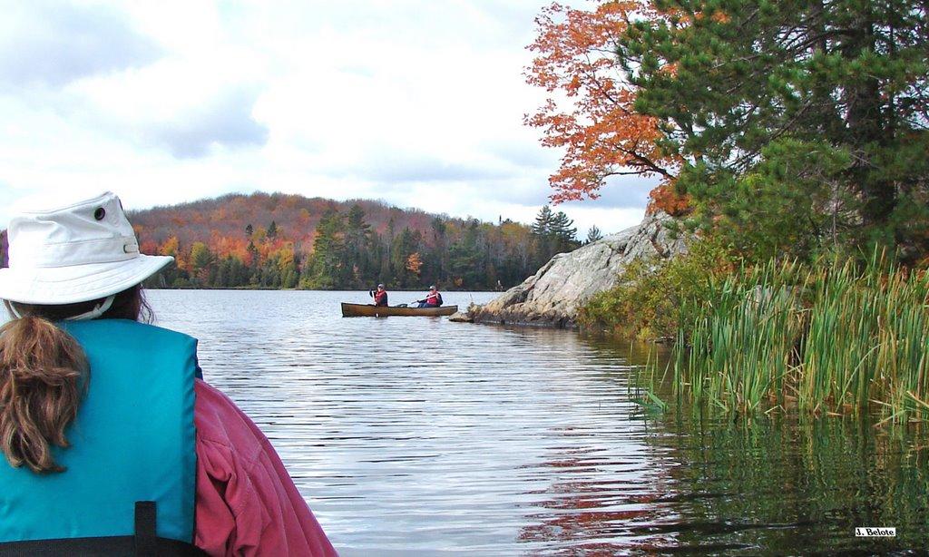 Craig Lake canoeing