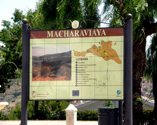 """Spain - Andalusia - Macharaviaya - Its name is derived from Arabic """"Machxar Abu Yahya"""", meaning """"Abu Hayas Court"""" - 2009"""