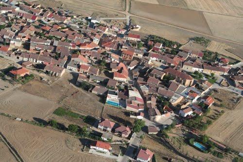 Vista aérea de Casaseca de Campeán