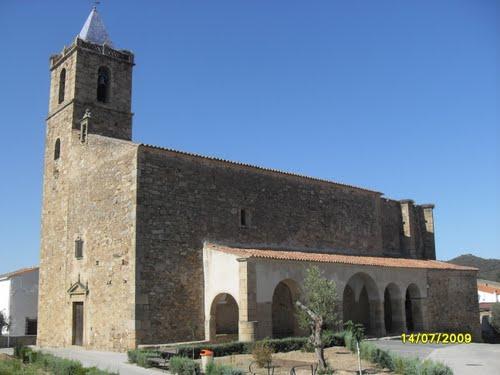 Iglesia. Zarza de Montanchez.