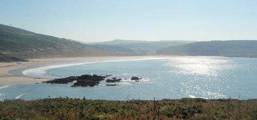 Panorámica da Praia de Nemiña