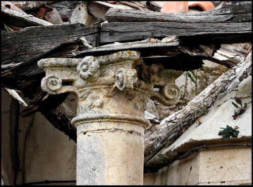 Ruinas sacras. Iglesia de Villalval
