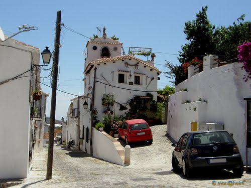 """Spain - Andalusia - Macharaviaya - """"The village was built upon the ruins of an ancient Arabic settlement"""" - 2009"""