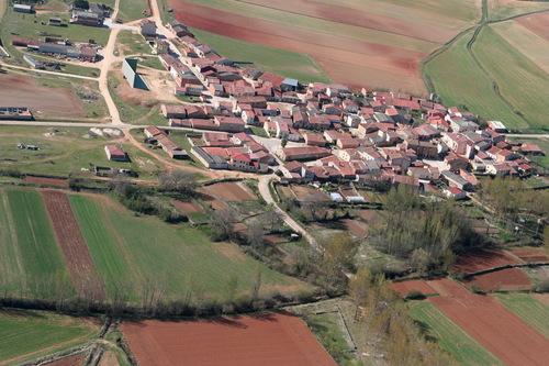 Vista aérea de Guijosa,