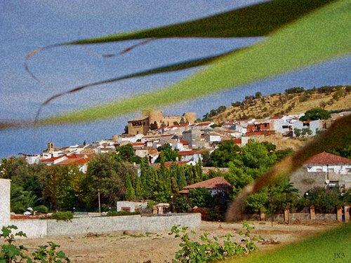 Pueblo y castillo de Canena. JX3.