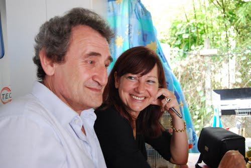 José Luis (Valdeorrés) y Pilar (GEMIYS)