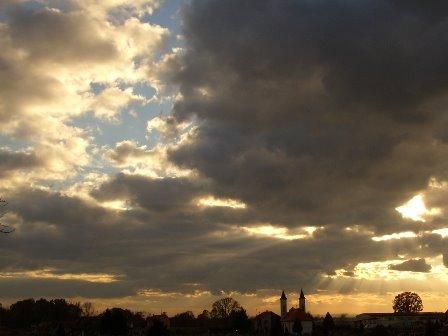 Posavina sky by damir m.