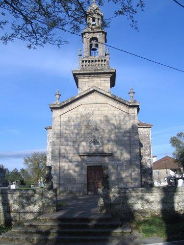 Parroquia de Santa Maria de Luou. Teo. La Coruña. España.