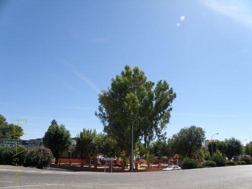 Vista del parque de la ctra de Alcabon