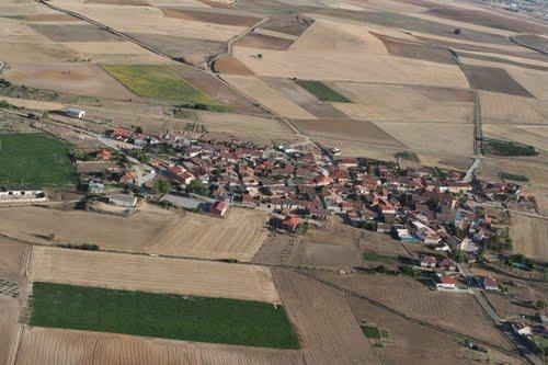 Fotografía aérea de Casaseca de Campeán