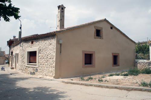 Casa reconstruida en Villafranca