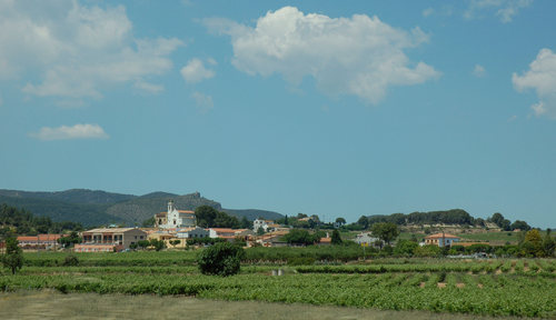 Sant Marçal seen from AP-7