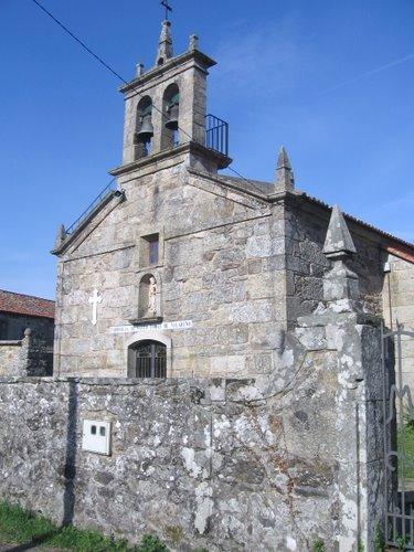 Parroquia de Santo Tomás de Vilariño. Teo. La Coruña. España.