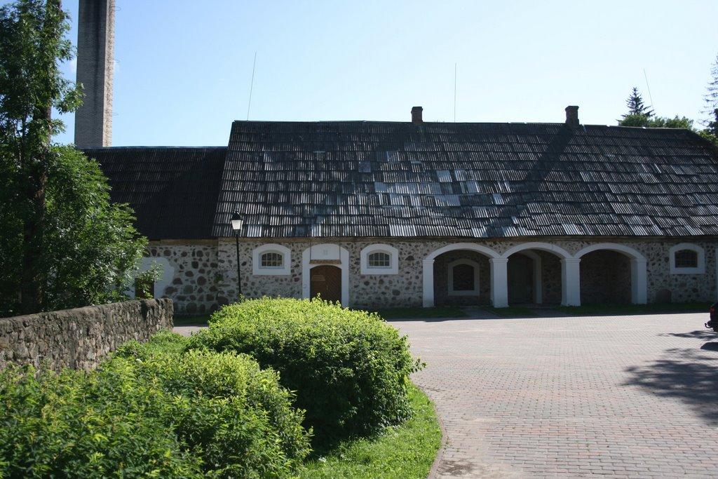 Old building in Taagepera manor, Estonia