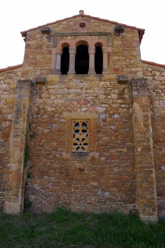 Santa Maria de Bendones, (791-842).  Bendones, Oviedo, Asturias