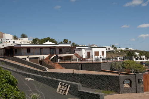 Typical house in the village of Asomada, Lanzarote