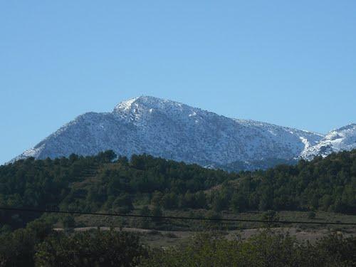 Morrón de Alhama nevado (15-12-09)