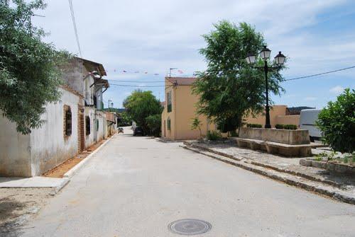 Plaza de las Farolas en Guma