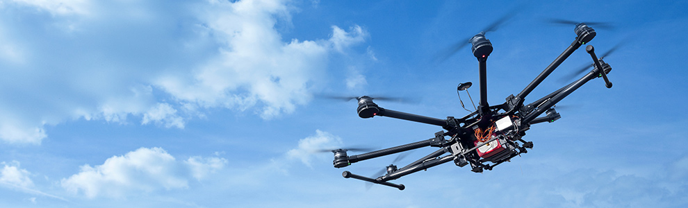 THIS OCTOCOPTER COULD SAVE YOUR LIFE