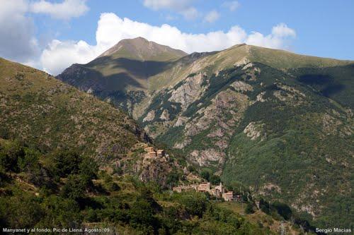 Manyanet i el Pic de Llena