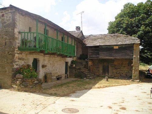 Remesal. Camino de Santiago. Julio de 2004