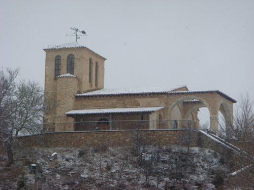 Torre Vieja nevada Buenavista de Valdavia