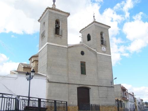 Iglesia-Santa María de Nieva Huercal-Overa (Almería)