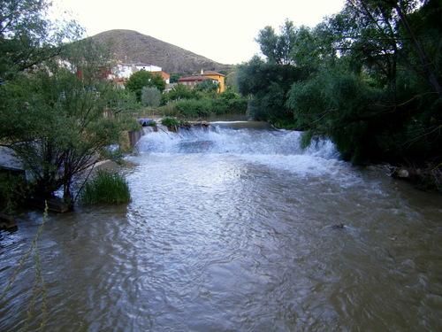 Huérmeda, Azúd del Rio Jalón