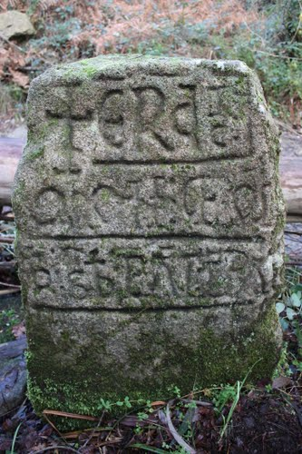 Marco de couto medieval en Lampai