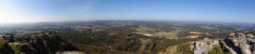 Vistas desde el Pico Sacro.