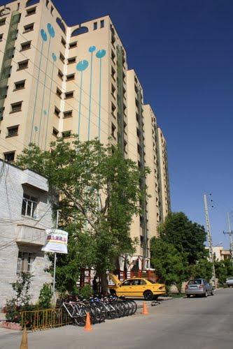 ایستگاه کرایه دوچرخه در شیراز