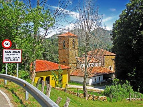 Iglesia de San Xuan de Parres. Principado de Asturias.