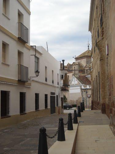 Calle de El Carpio. Diciembre de 2009