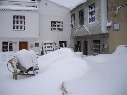 Hormigonera de nieve