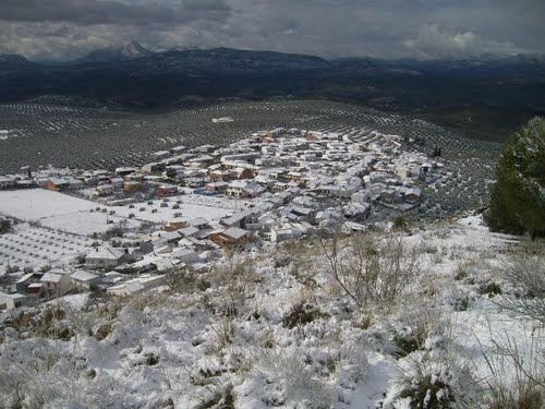 Panorámica con nieve