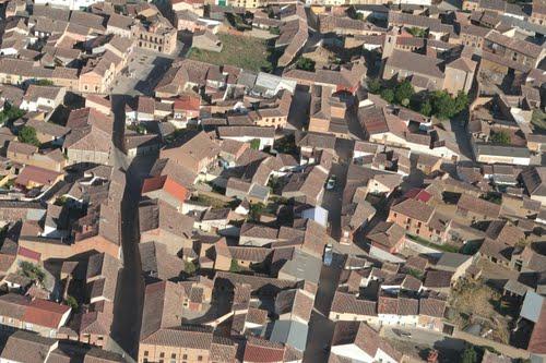 Vista aérea de Casasola de Arión