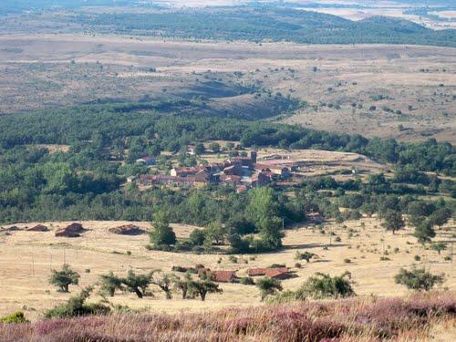 Vista de Quintanilla - Cabrera bajando de Casarejo