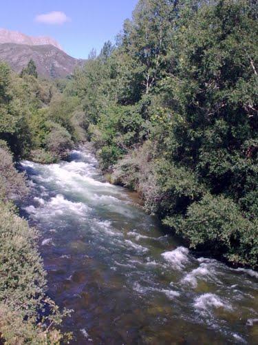 Rio Porma, cerca de Remellan -- Región Leonesa