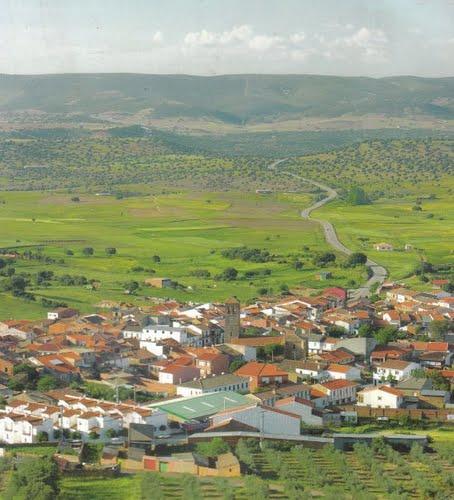Panoramica de Arroba de los Montes, Ciudad Real