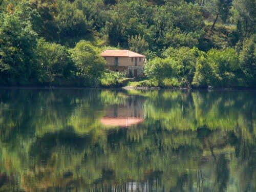 Río Miño, reflejos...