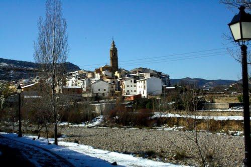 Castellón:Panorámica de Forcall