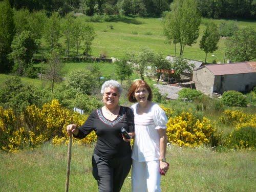 Tia Mari y Susy en Guisatecha
