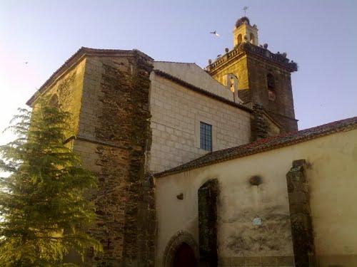 Iglesia paroquial san Esteban, Guijo de Coria.
