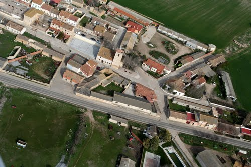 Vista aérea de Villanueva de los Infantes