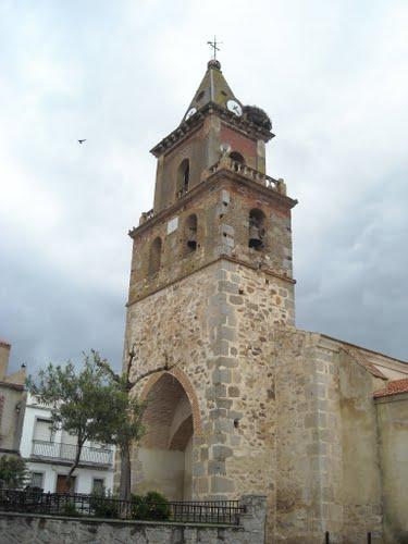Iglesia de Valle de la Serena. Abril de 2010